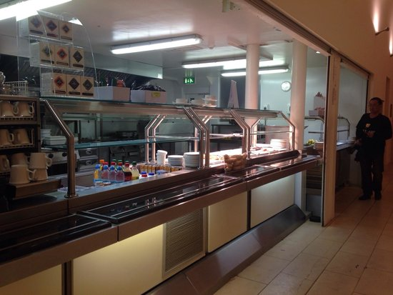 Dublin City University Accommodation: This where I get my breakfast , like buffet style