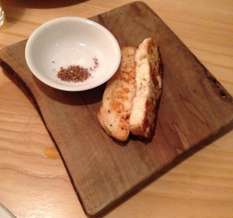 A.Wong : Fried cheese starter