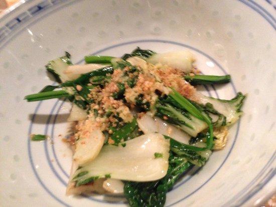 A.Wong: Stir fried mixed green vegetables