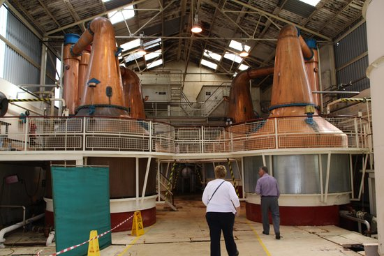 Ben Nevis Distillery: Inside the distillery
