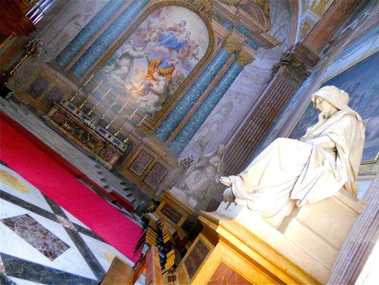 Basilica di Santa Maria degli Angeli e dei Martiri : Méditation aux couleurs