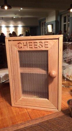 Bath Arms Hotel : Fabulous cheese cupboard