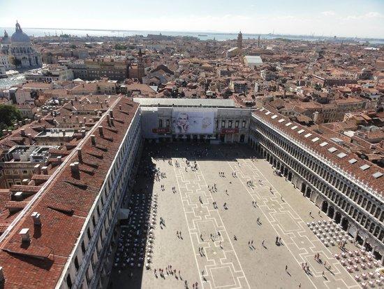 Campanile di San Marco: Vista do alto do campanário