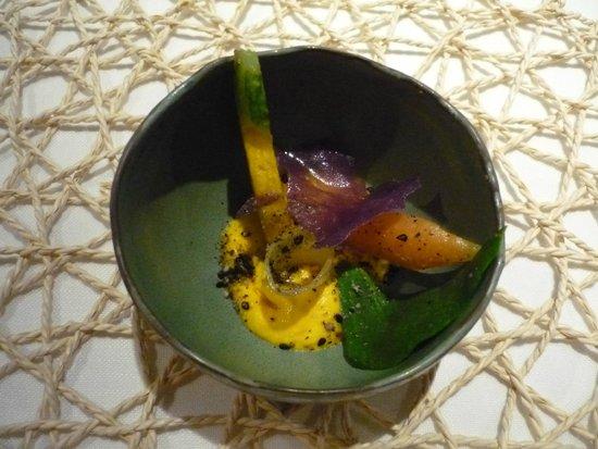 Casa Marcial: Zanahoria