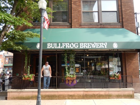Bullfrog Brewery: front of brewery