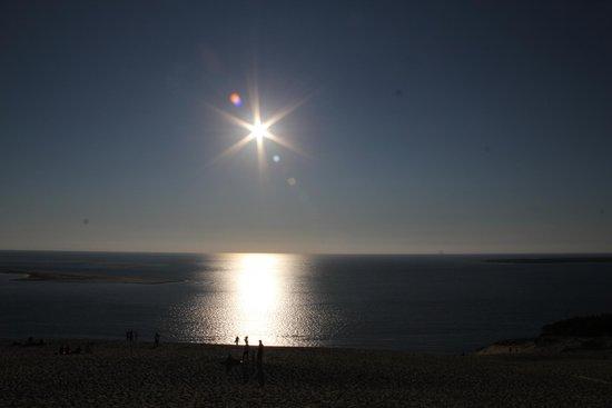Dune du Pilat : A view from dune de pilat