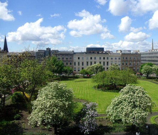 View over Blythswood Square from the hotel