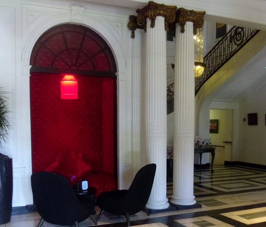 Blythswood Square: Hotel lobby