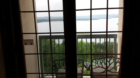 Chateau on the Lake Resort & Spa: View from Room 536