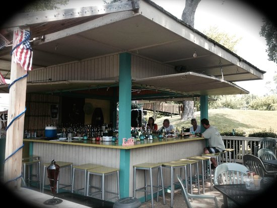 Nauti-Knots Bar and Grille: My favorite place. The Tiki Bar