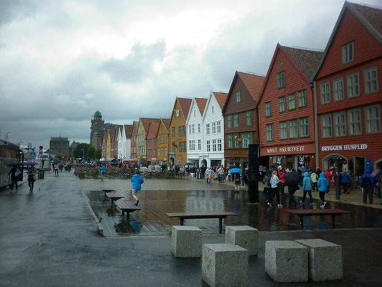 Roedne Fjord Cruise: Bryggen heritage site