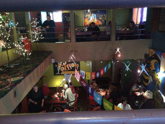 Sweet Lorraine's Cafe & Bar: View from upstairs