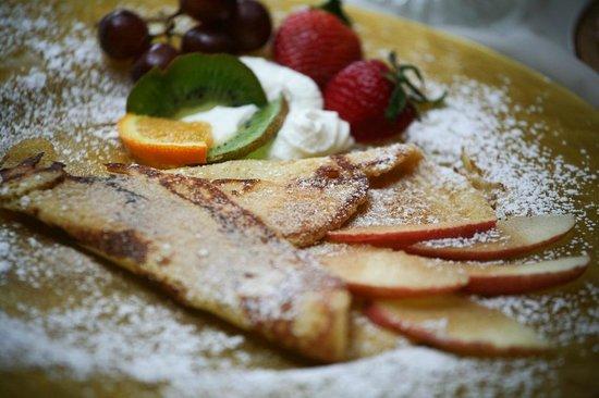 Hemingways By the Sea Bed and Breakfast Inn: delicious food- breakfast
