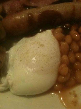 Carn Brae B&B: An expertly cooked poached egg!
