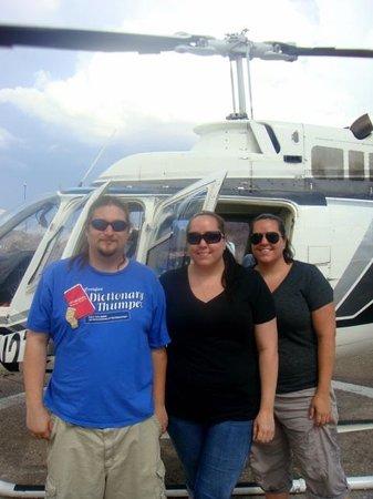 Dam Helicopter Company: dam good ride