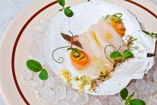 fresh scallops!  Photo de Chalk Point Kitchen, New York  TripAdvisor