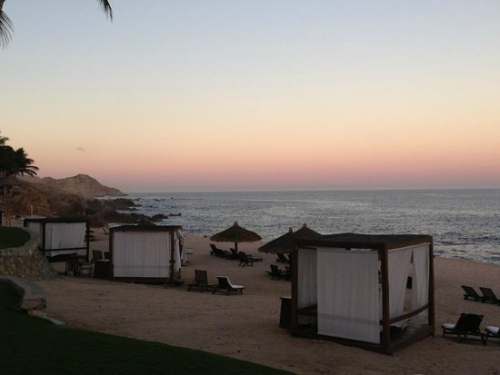 Grand Fiesta Americana Los Cabos All Inclusive Golf & Spa: sunset from the fire pit area