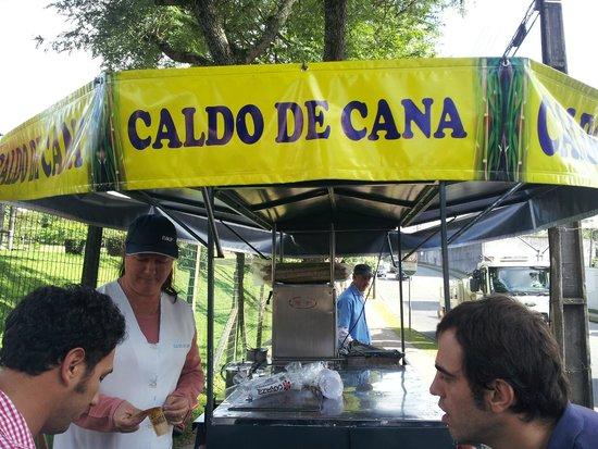 Jardim Botânico de Curitiba: Jardim Botanico de Curitiba - Venta de delicioso Caldo de Cana