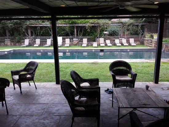 Inn at Serenbe: The Kids pool
