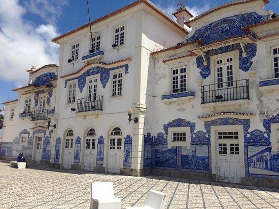 Aveiro Railway Station: train station