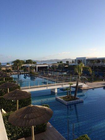 Sensimar Palazzo del Mare: Lovely morning view!