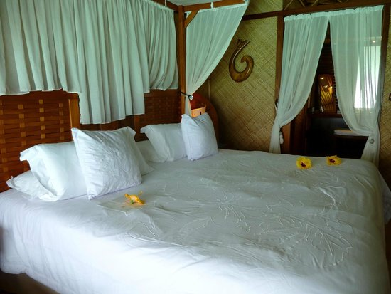 InterContinental Bora Bora Le Moana Resort : Comfortable bed