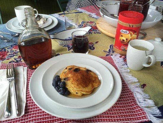 Wanta-Qo-Ti : Pancake aux bleuets