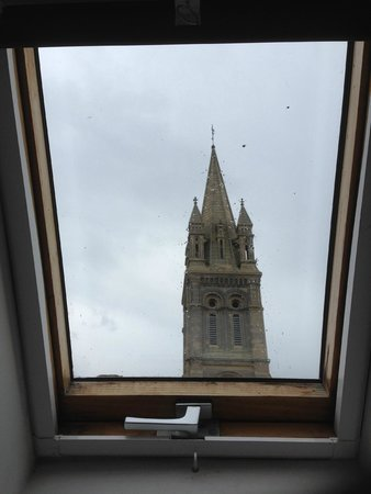 Le Mulberry: View from the room of the church with the bells...