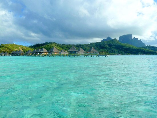 InterContinental Bora Bora Le Moana Resort: From the water