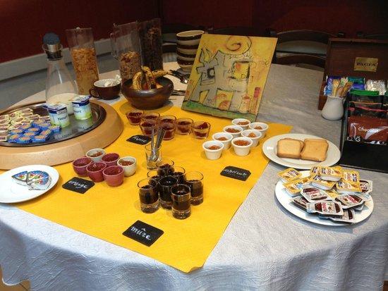 Le Mulberry: Mmmm, breakfast!