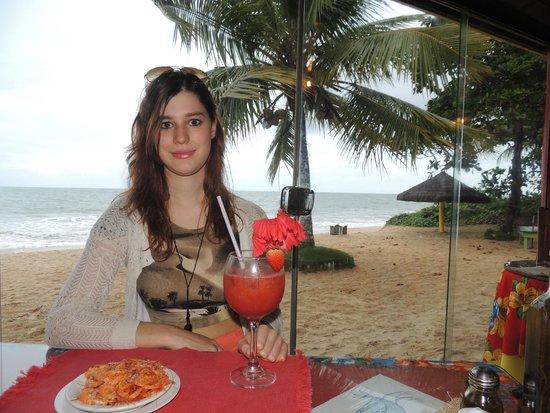 Jamaica Beach - Restaurante & Bar de Praia: Camarão cortesia
