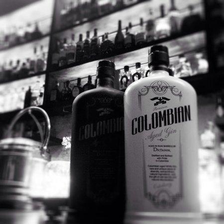 El Baron : Colombian Aged Gin by Rum Dictador #elbaroncafe