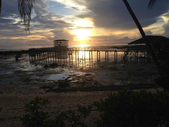Sagana Resort: View from the Kubu