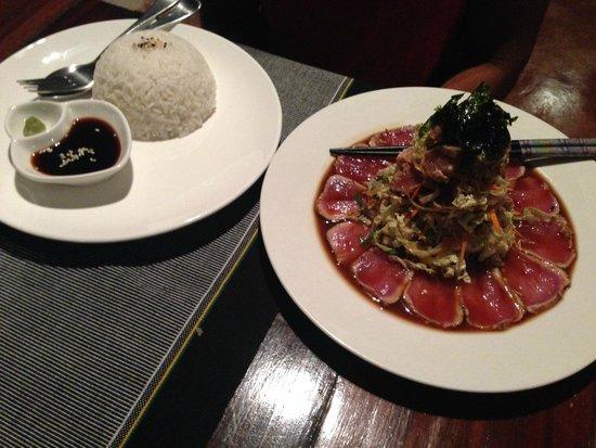 Sagana Resort: Fresh Tuna, sooo good!