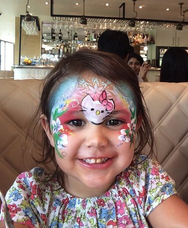 Ego Mediterranean Restaurant - Lichfield: Face painting at Ego!