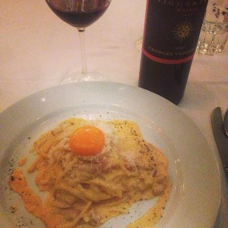 Tappo Trattoria: the best carbonara