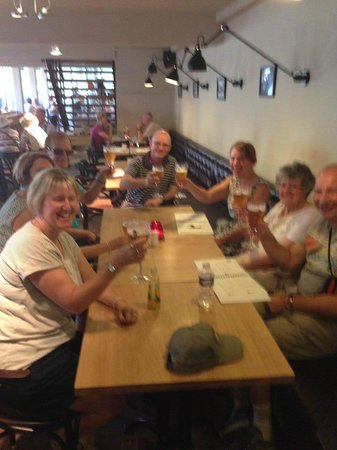 Brouwerij De Halve Maan: A well earned drink after our tour ( free with the tour)