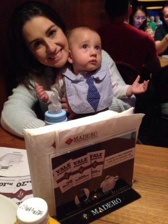 Restaurante Madero Grill : Em família. Lugar legal e funcionários atenciosos.