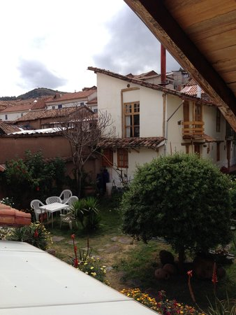 Casona La Recoleta: Internal courtyard