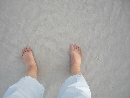 Siesta Beach : sand