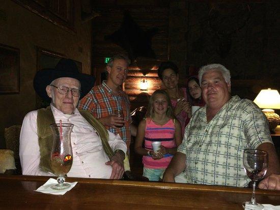 Circle Bar B Guest Ranch: Lodge