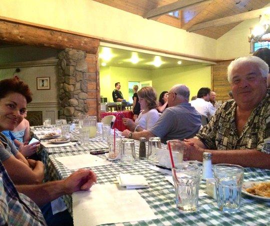 Circle Bar B Guest Ranch: Dining room