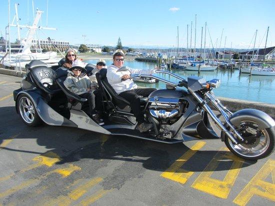 Supertrike Tours and Hire: Wharf
