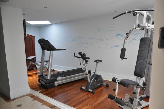 Elounda Gulf Villas & Suites : gyn in villa