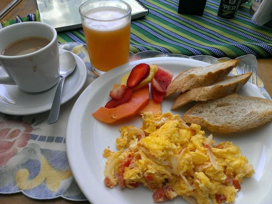 El Hostal Bed and Breakfast : delicious homemade brekky to kick start the day!
