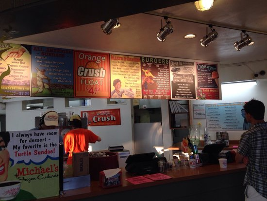 Michaels Frozen Custard Is Really >> Michael S Frozen Custard Madison 3826 Atwood Ave Menu Prices