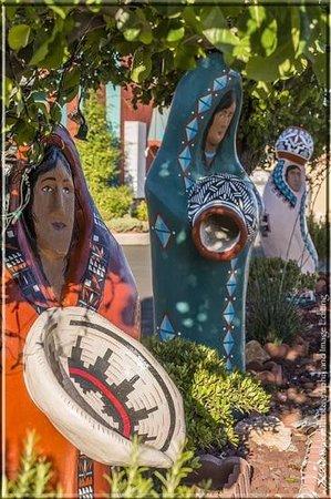 Sandia Peak Inn Motel: Sandia art