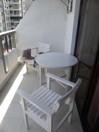 Hotel Betoma : balcon