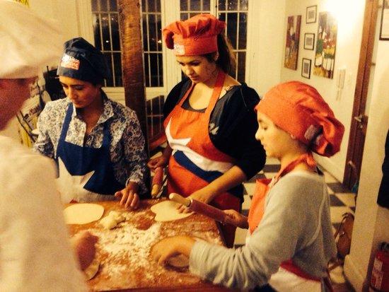 Chilean Cuisine Cooking Classes: Concentration!