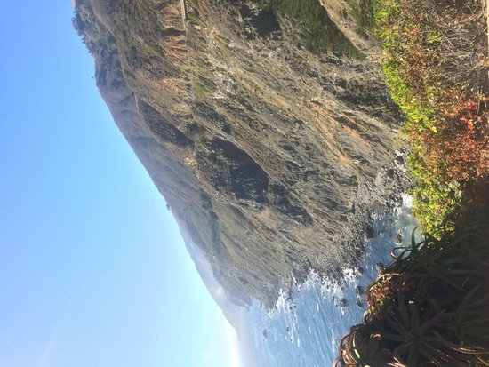 Ragged Point: View
